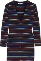 Alexander Wang Striped merino wool cardigan