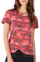 Ragdoll LA DISTRESSED VINTAGE TEE Red Camo