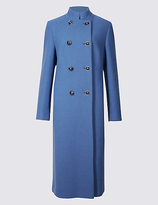 Twiggy Wool Blend Coat