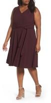 Tahari Plus Size Women's Fit & Flare Dress
