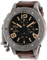 U-Boat Men's 6475 U-42 Analog Display Swiss Automatic Brown Watch