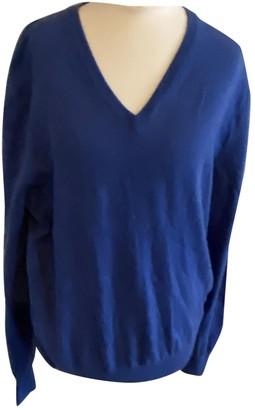 Ermenegildo Zegna Blue Cashmere Knitwear & Sweatshirts