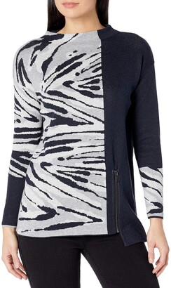 Nic+Zoe Women's Plus Size Tahoe Zip Sweater