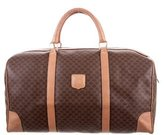 Celine Leather-Accented Weekender