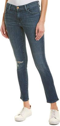 J Brand Swift Destruct Mid-Rise Skinny Leg