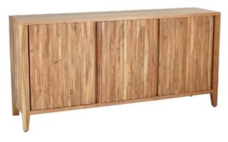 Union Rustic Brydon Rustic Wood 3-Door Sideboard