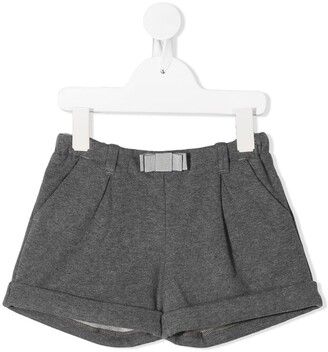 Moncler Enfant Bow Detail Shorts