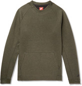 Nike Cotton-blend Tech Fleece Sweatshirt - Green