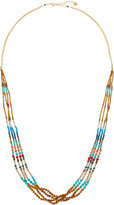 Nakamol Long Beaded Multi-Strand Necklace, Turquoise