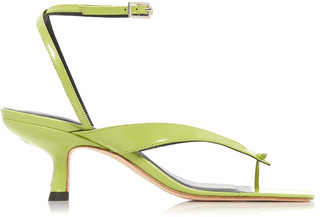 BY FAR Mindy Leather Sandals