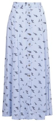 Ganni Printed long skirt