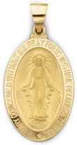 JCPenney FINE JEWELRY 14K Yellow Gold Miraculous Medal