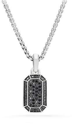 David Yurman Streamline Pavé Amulet with Black Diamonds