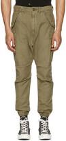 Green Military Cargo Pants