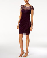 Xscape Evenings Petite Embellished Sheath Dress