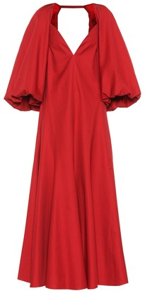 KHAITE Joanna cotton dress