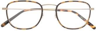 Oliver Peoples Landis round frame optical glasses