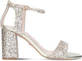 Carvela Gigi glitter heeled sandals