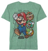 Nintendo Boys' Super Mario Graphic T-Shirt - Kelly Green