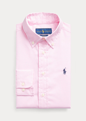 Ralph Lauren Slim Fit Gingham Dress Shirt