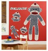 BuySeasons Sock Monkey Red Giant Wall Decal