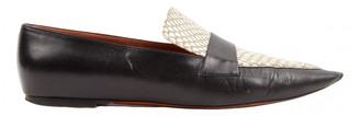 Celine Black Leather Flats