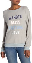 Wildfox Couture Fortune Love Pullover Sweater