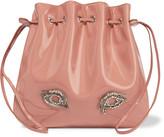 Rochas Tilda medium embellished patent-leather shoulder bag