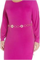 Fashion to Figure April Chain Link Belt-Plus