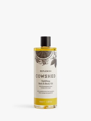 Cowshed Replenish Uplifting Bath & Body Oil, 100ml