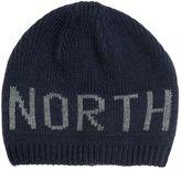 North Sails Logo Intarsia Tricot Beanie Hat