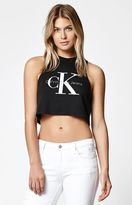 Calvin Klein Reissue Logo Cropped Tank Top