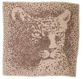 Cartier Panther Print Cashmere Scarf