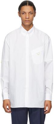 Givenchy White Pocket Detail Shirt
