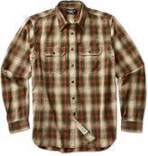 Ralph Lauren RRL Classic Plaid Cotton Workshirt