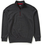 Roundtree & Yorke Trademark Long-Sleeve Solid Quarter Zip