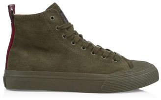 Diesel Astico High-Top Textile Sneakers