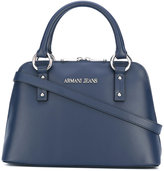 Armani Jeans double handles small tote - women - Polyurethane - One Size