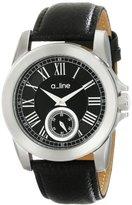 A Line a_line Women's AL-80022-01 Amare Analog Display Japanese Quartz Black Watch