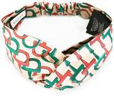 Gucci horsebit print headband