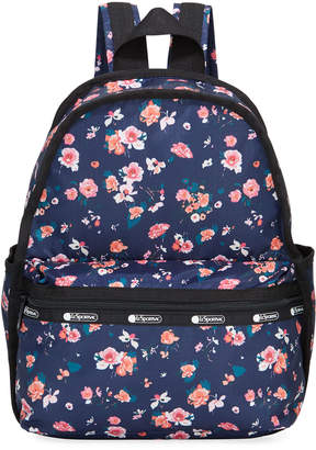 Le Sport Sac Candace Nylon Mini Backpack w/ Removable Pouch
