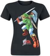 Nintendo Legend Of Zelda Women's T-Shirt - Medium