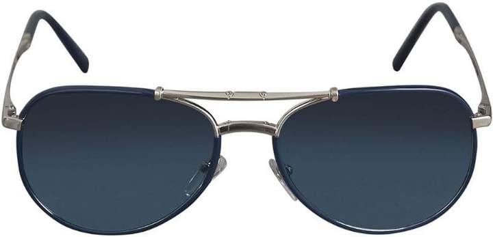 Burberry Eyewear Folding Pilot Sunglasses