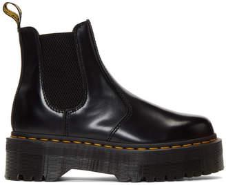 Dr. Martens Black 2976 Quad Platform Chelsea Boots