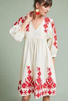 Velvet by Graham & Spencer Jora Embroidered Peasant Dress