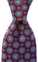 Daniel Cremieux Medallion Dial Traditional Silk Tie