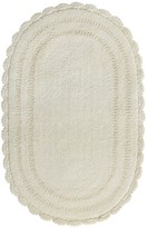 "Espalma Crochet Bath Rug - Reversible, 21x34"""