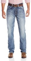 Stetson Pieced Back Pocket Using Wrong Side Denim Mens Jean