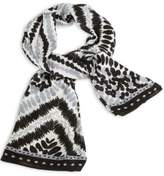 Vera Bradley Midnight-Tribal Oversized Scarf
