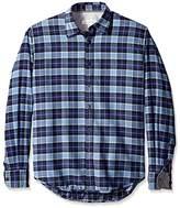 James Campbell Men's Eclipse Plaid Long Sleeve Shirt